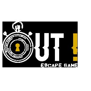 OUT ! Escape Game Logo